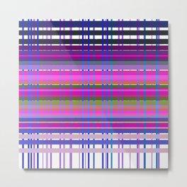 Design wild lines Blocks Metal Print