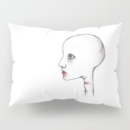 Young and Fragile - Digital illustration Pillow Sham