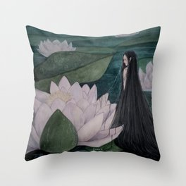 The Nymph Throw Pillow