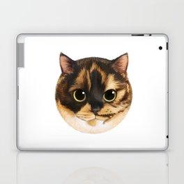Round Cat - Lang Laptop & iPad Skin