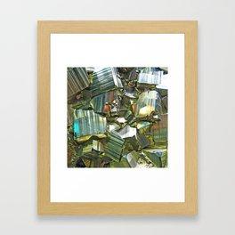 Pyrite Framed Art Print