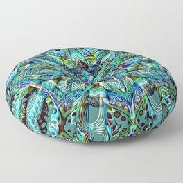 Divine Intention 3: Blue Floor Pillow