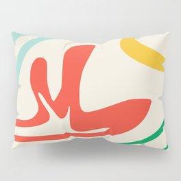 Rainbow abstract shapes Pillow Sham