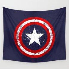 Captain's America splash Wall Tapestry