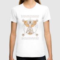 aang T-shirts featuring Vitruvian Aang by Fanboy30