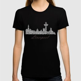Liverpool City Skyline T-shirt