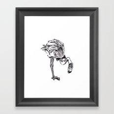 Call me Mister - Flamingo Framed Art Print