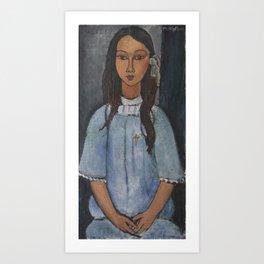 Alice by Amedeo Modigliani Art Print