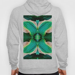 206 - Hosta plant abstract design Hoody