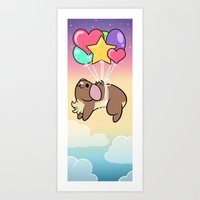 Up, Up, and Away! Art Print