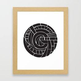 Circle C Framed Art Print