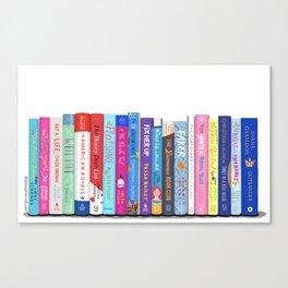 Romance Books Canvas Print