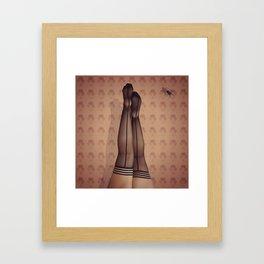 Morning Yoga Framed Art Print