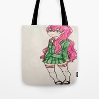 anime Tote Bags featuring anime  by ArtGuts