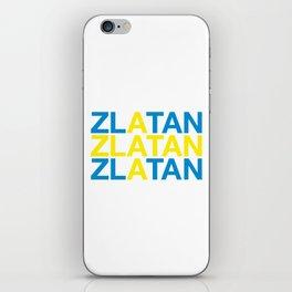 ZLATAN iPhone Skin