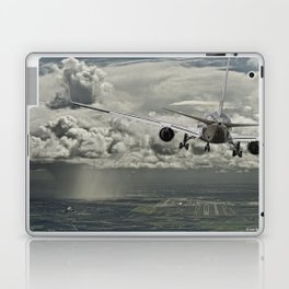 Stormy approach Laptop & iPad Skin