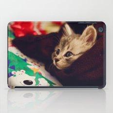 christmas kitten iPad Case