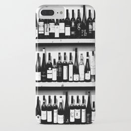 Wine Bottles in Black And White #decor #society6 #buyart iPhone Case