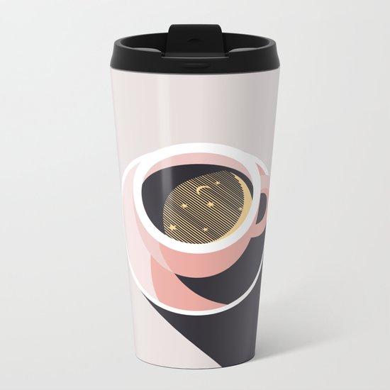 Cup of Coffee Metal Travel Mug