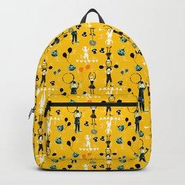 Acrobat yellow Backpack