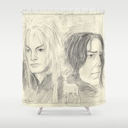 Magick Lives Forever Shower Curtain