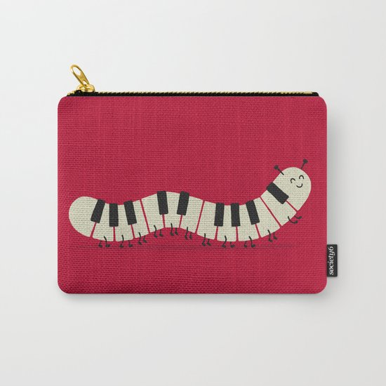 Caterpiano Carry-All Pouch
