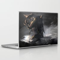 kaiju Laptop & iPad Skins featuring El Kaiju by SkullsNThings