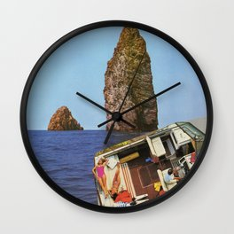 motorboat Wall Clock