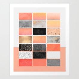 Color Board 1 Art Print
