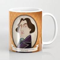 oscar wilde Mugs featuring Oscar Wilde said... by Mrs Peggotty