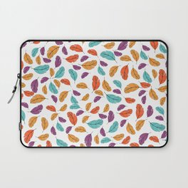 Graphic illustration of stylized and colorful birds Laptop Sleeve