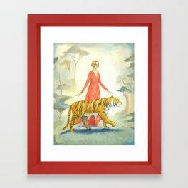 The Tiger's Bride Framed Art Print