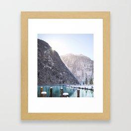 Königsee Framed Art Print
