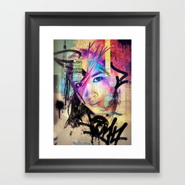 Street Queen Framed Art Print