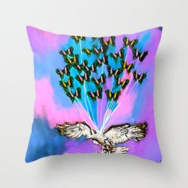 When You Were Weak I Was Strong Throw Pillow