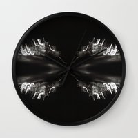 bender Wall Clocks featuring Light Bender by Sloane Dakota