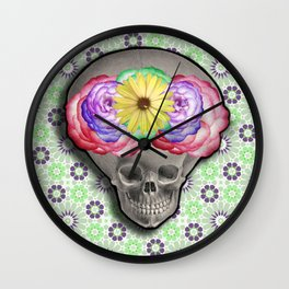 ALIEN SKULL Wall Clock