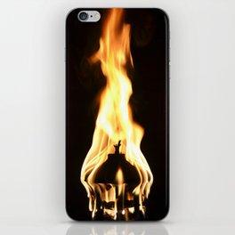 Flamin Fire iPhone Skin