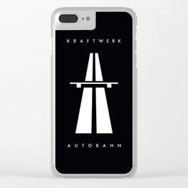 Autobahn kraftwerk Clear iPhone Case