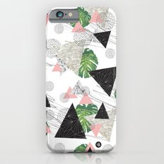 Triangles with leaf iPhone 6s Slim Case