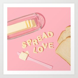 Spread Love Art Print