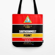Southern Most Point, Key West, Florida/サザン・モスト・ポイント Tote Bag