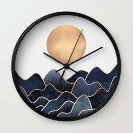 Waves Wall Clock
