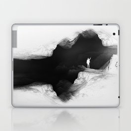 Hello from the The White World Laptop & iPad Skin