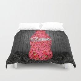 Flower Coke Duvet Cover
