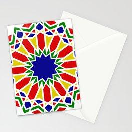 Art Moorish Arabesque Moroccan 2 Stationery Cards
