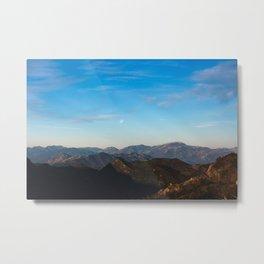 Basilicata - Lunar landscape Metal Print