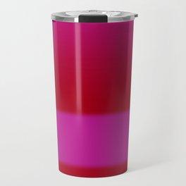 Red Pink Gradient Travel Mug
