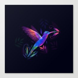 Colibri's World Canvas Print