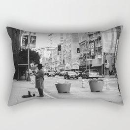 Los Angeles Jazz Rectangular Pillow